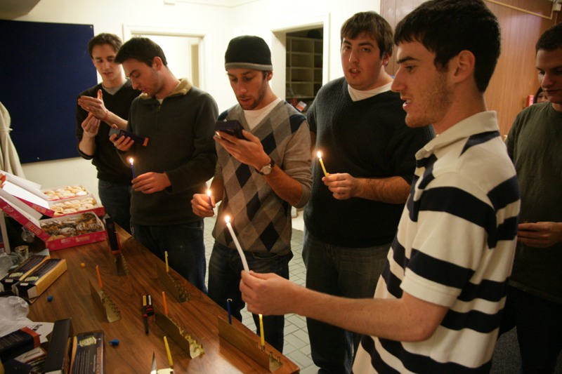 Fraternity's Partnership With Chabad on Campus Facilitates