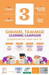 Gimmel Tammuz 5774 Poster 11X17 JPeg
